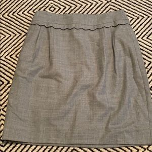 J. Crew Skirts - Jcrew scallop detail skirt